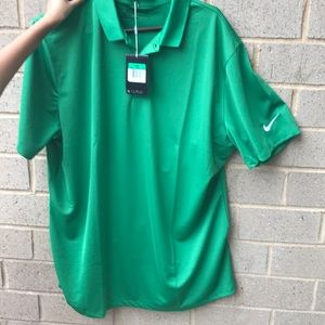 Nike dri fit men's golf polo shirt Sz XL